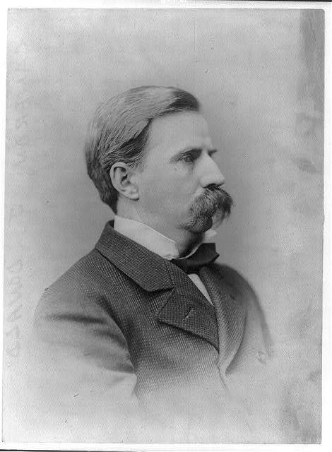 [J. Donald Cameron, head-and-shoulders portrait, right profile]