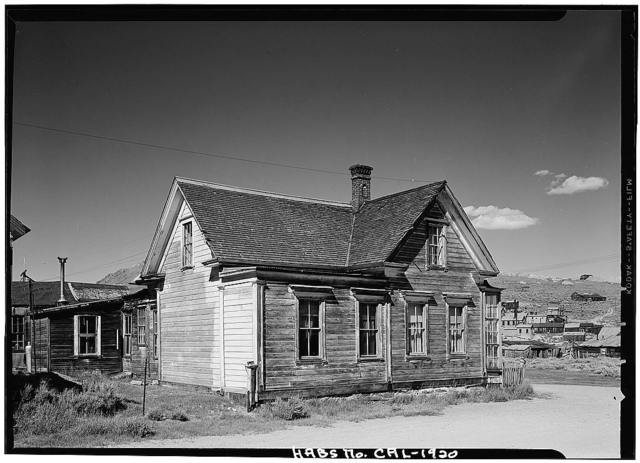 J. S. Cain House, Green & Park Streets, Bodie, Mono County, CA