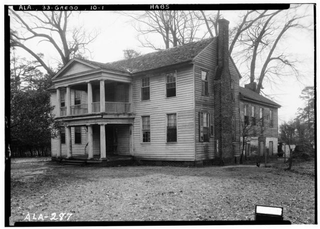 Jackson House, Demopolis Street, Greensboro, Hale County, AL
