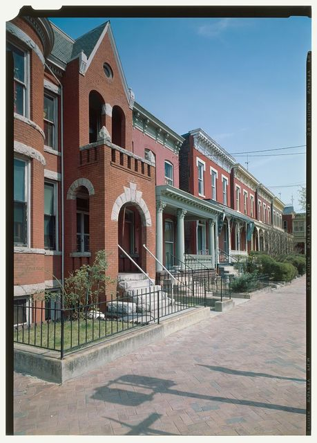 Jackson Ward Historic District, Bounded by Marshall, Fifth, & Gilmer Streets, Richmond, Independent City, VA