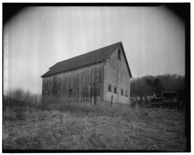 Jacob Crow Farm, Hay Barn, Crow Creek Road, 1 mile south of intersection of Routes 15 & 28, Cameron, Marshall County, WV