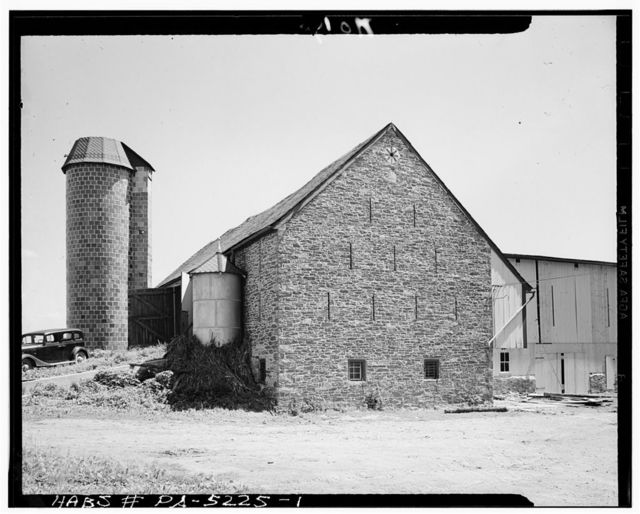 Jacob E. Long Barn, County Road, Lancaster, Lancaster County, PA