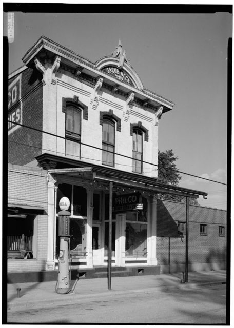 Jacob Heck Building, Cannelton, Perry County, IN