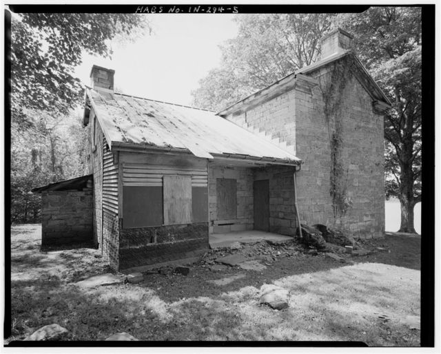 Jacob Rickenbaugh House, Off County Road 502, north shore of Lake Celina, Saint Croix, Perry County, IN