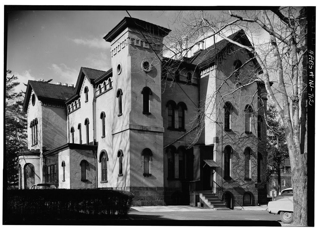 James Bishop House, College Avenue & Bartlett Street, New Brunswick, Middlesex County, NJ