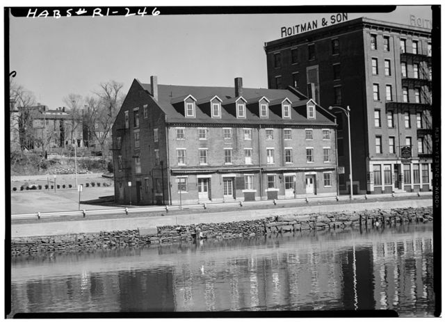James Brown Warehouse, 142-152 South Water Street, Providence, Providence County, RI