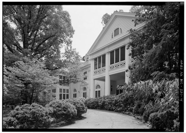 James Buchanan Duke House, 400 Hermitage, Charlotte, Mecklenburg County, NC