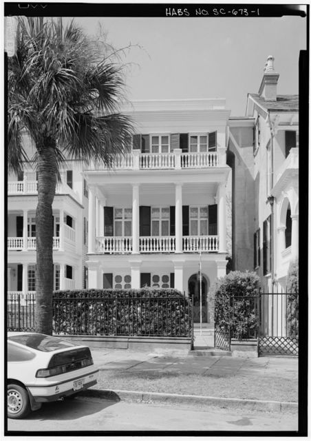 James E. Spear House, 30 South Battery Street, Charleston, Charleston County, SC