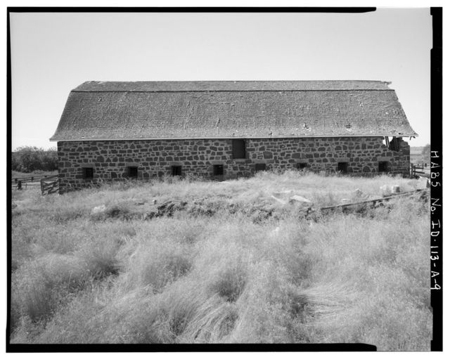 James H. Lane Ranch, Barn, One Mile South of Richfield on Highway 26, Richfield, Lincoln County, ID