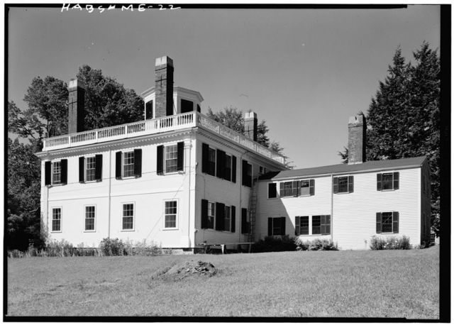 James Kavanaugh House, State Route 213, Damariscotta Mills, Lincoln County, ME