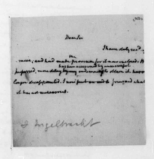 James Madison to Engelbrecht.