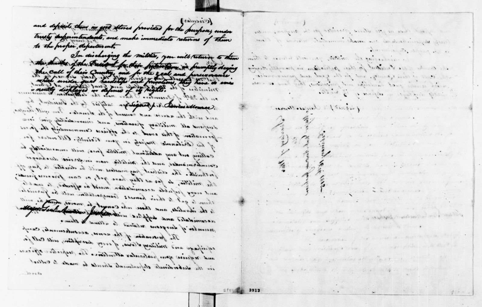 James Monroe Papers: Series 1, General Correspondence, 1758-1839; 1812 Mar. 15-1815 Mar. 16 (Reel 5)