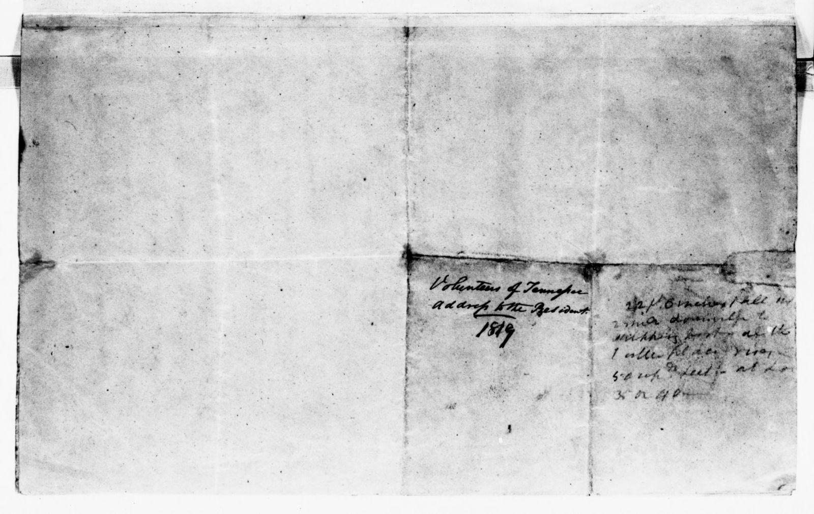 James Monroe Papers: Series 1, General Correspondence, 1758-1839; 1818 June 5-1821 July 19 (Reel 7)