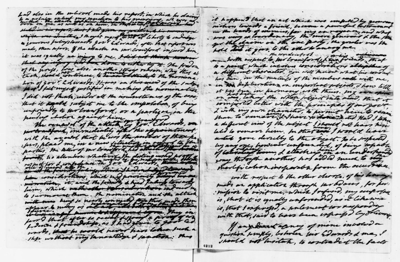 James Monroe Papers: Series 1, General Correspondence, 1758-1839; 1821 July 20-1825 Mar. 10 (Reel 8)