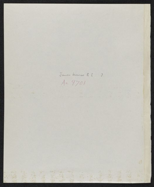 James Monroe Papers: Series 4, Addenda, 1778-1831; 1979-1985 additions; Part B, photocopies; Correspondence; 1796-1822