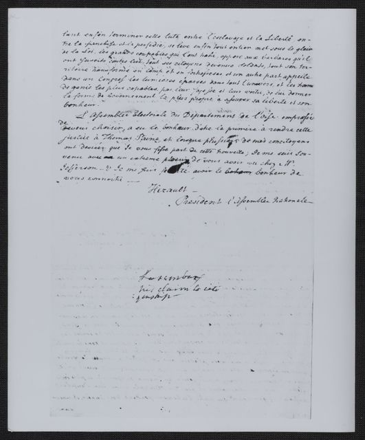 James Monroe Papers: Series 4, Addenda, 1778-1831; 1979-1985 additions; Part B, photocopies; Documents on loan to exhibit at the National Archives (1958)