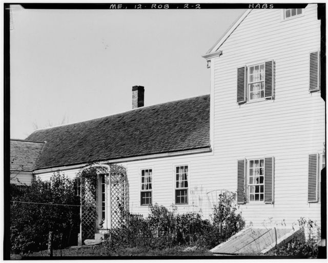 James Riggs House, State Route 127, Robinhood, Sagadahoc County, ME