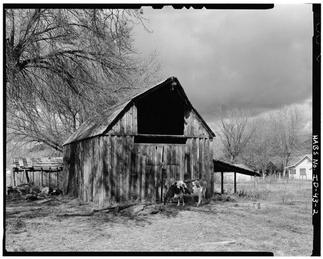James Scott Barn, East Main Street, South side, Montour, Gem County, ID