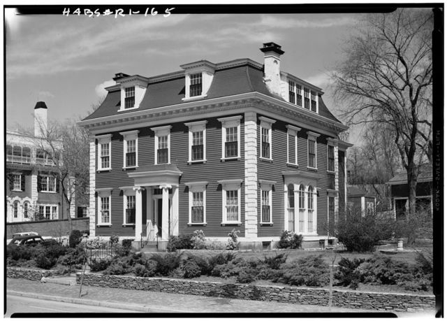 James T. Rhodes House, 367 Benefit Street, Providence, Providence County, RI
