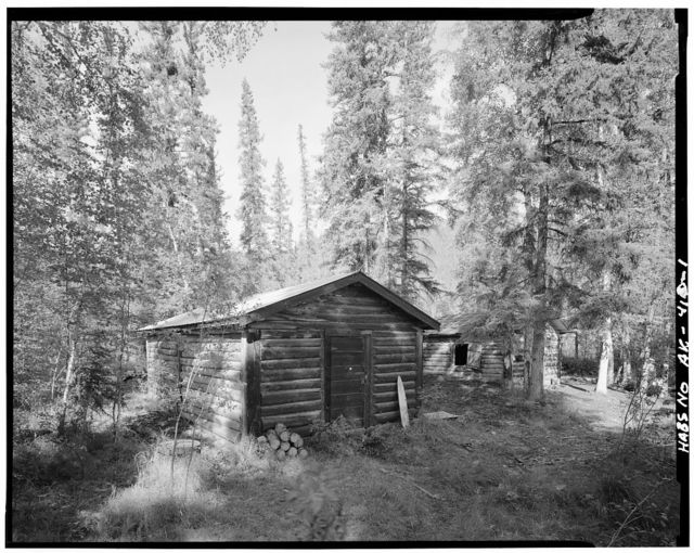 James Taylor Shop, Yukon River, Opposite Fourth of July Creek, Eagle, Southeast Fairbanks Census Area, AK