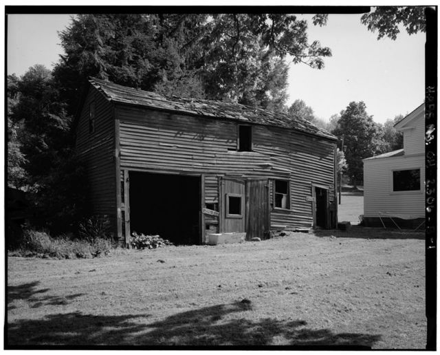James Wallace Outbuilding, 8230 Brandywine Road, Northfield Center, Summit County, OH