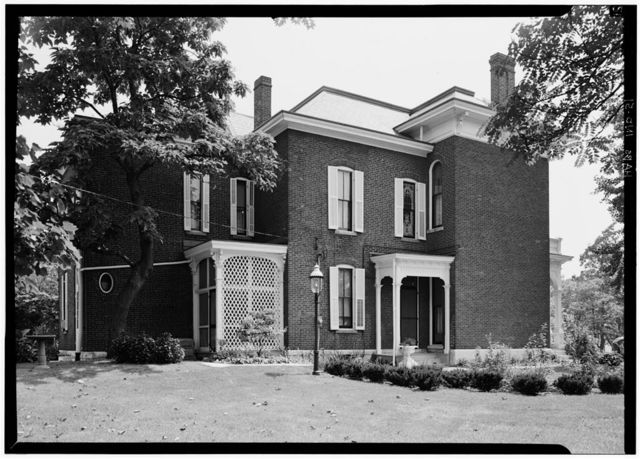 James Whitcomb Riley House, 528 Lockerbie Street, Indianapolis, Marion County, IN