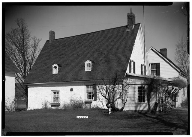 Jan Mabie House, River Road (State Route 55), Rotterdam Junction, Schenectady County, NY