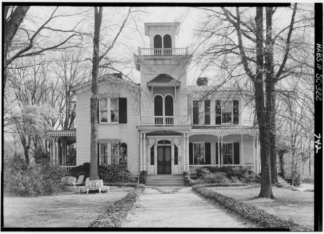 Jeff Maxwell House, 1109 West Whitner Street & Maxwell Avenue, Anderson, Anderson County, SC