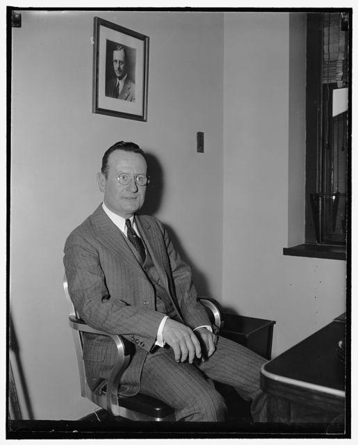 Jeff. standard. Mr. Spencer Harrison, Jefferson Standard Life Insurance Co. American Security Bld., 4/25/38