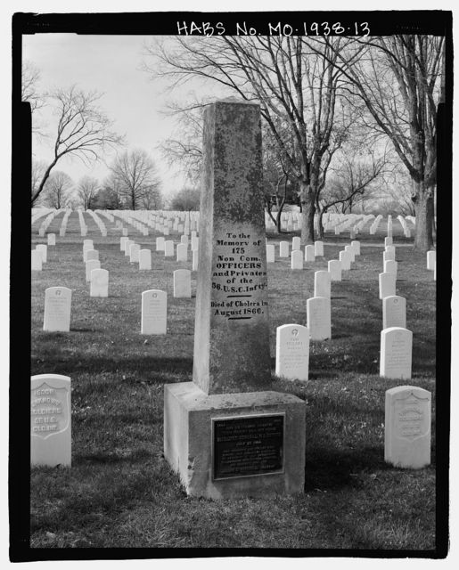 Jefferson Barracks National Cemetery, 2900 Sheridan Road, Green Park, St. Louis County, MO