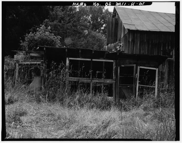 Jeremiah Bean Farmstead, Chicken Coop, Southwest side of U.S. Route 50, 1.8 miles south of Guysville, Guysville, Athens County, OH