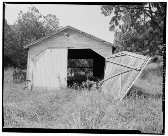 Jeremiah Bean Farmstead, Tractor Shed, Southwest side of U.S. Route 50, 1.8 miles south of Guysville, Guysville, Athens County, OH