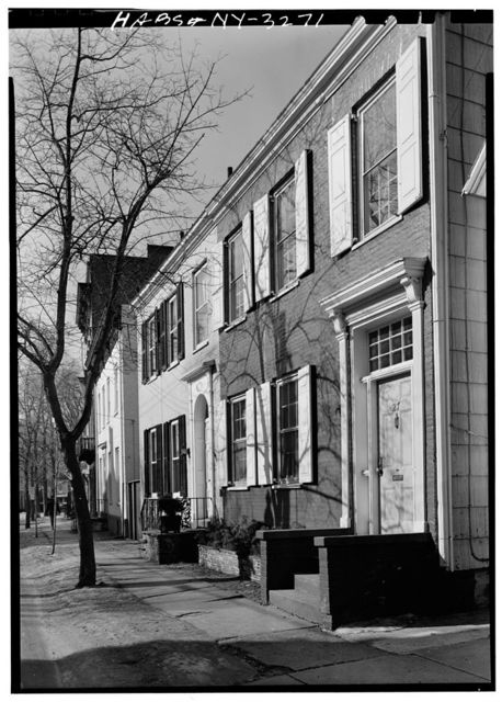 Jeremiah DeGraaf House, 25-27 Front Street, Schenectady, Schenectady County, NY