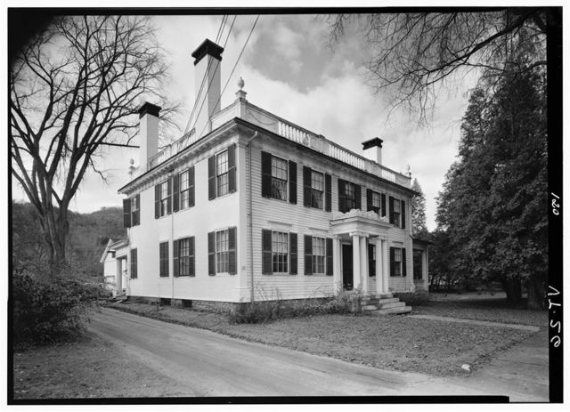 Job Lyman House, 30 Elm Street, Woodstock, Windsor County, VT