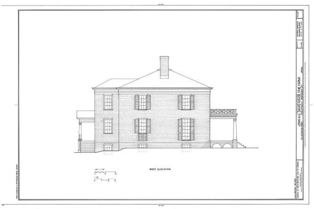 John A. G. Davis House, 1201 Jefferson Street, Charlottesville, Charlottesville, VA