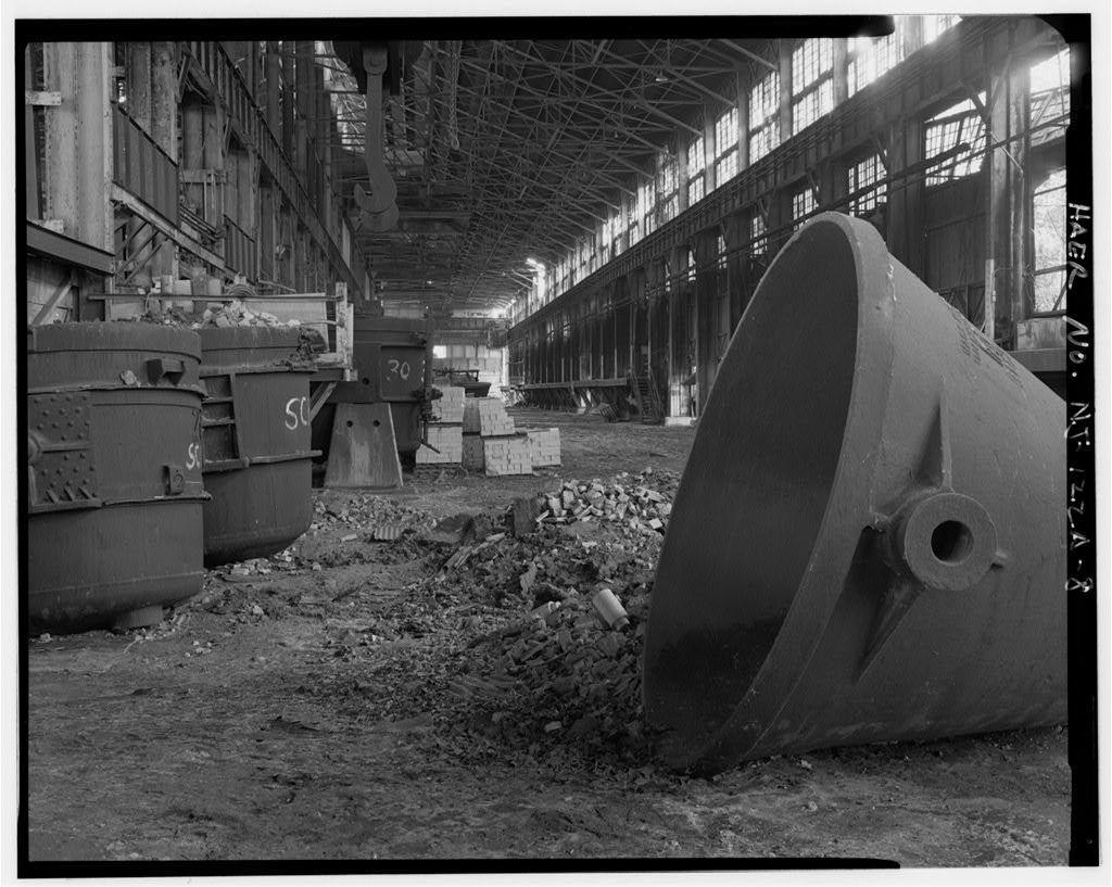 John A. Roebling's Sons Company, Kinkora Works, Steel & Rolling Mills, Roebling, Burlington County, NJ