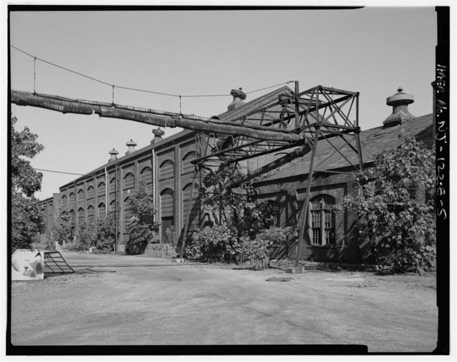 John A. Roebling's Sons Company, Kinkora Works, Support Systems, Roebling, Burlington County, NJ