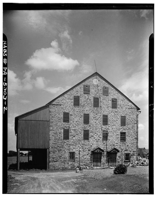 John Adam Singmaster Barn, State Route 100, Macungie, Lehigh County, PA