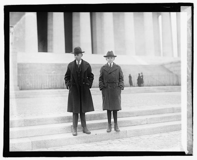 John & Calvin Coolidge, 3/5/21