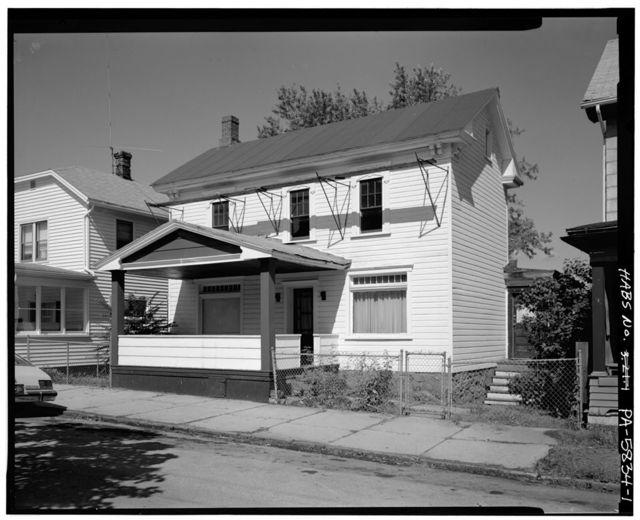 John & Ellie Bush House, 1214 Third Avenue, Altoona, Blair County, PA