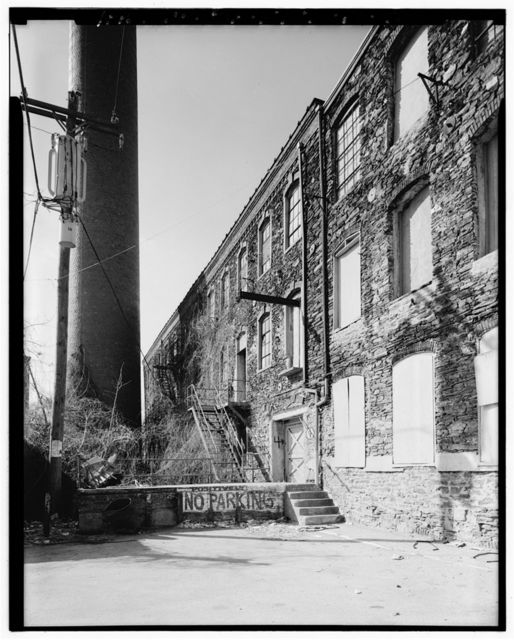 John & James Dobson Carpet Mill (West Parcel), Building No. 4, 4041-4055 Ridge Avenue, Philadelphia, Philadelphia County, PA
