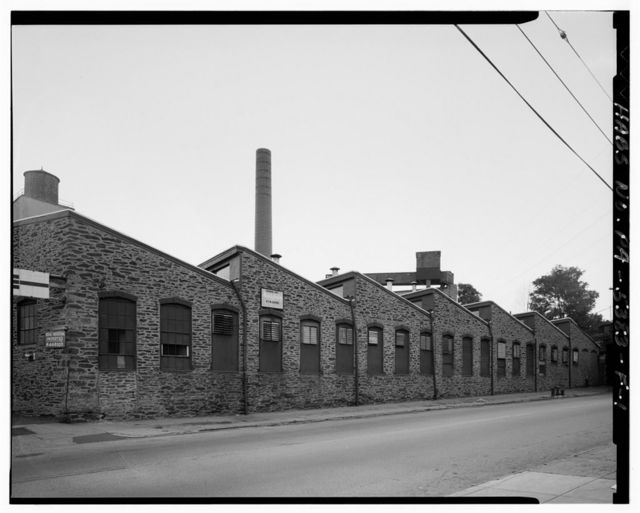 John & James Dobson Carpet Mill (West Parcel), Building No. 7, 4041-4055 Ridge Avenue, Philadelphia, Philadelphia County, PA