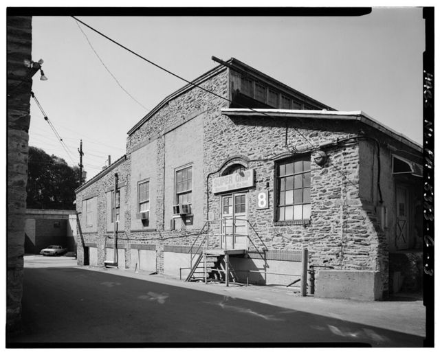 John & James Dobson Carpet Mill (West Parcel), Building No. 8, 4041-4055 Ridge Avenue, Philadelphia, Philadelphia County, PA
