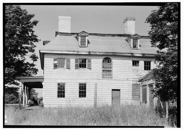 John Bannister House, Broadway (Parts in Winterthur Museum), Middletown, Newport County, RI