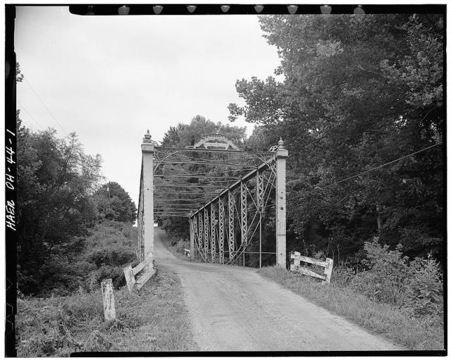 John Bright No. 1 Iron Bridge, Spanning Poplar Creek at Havenport Road (TR 263), Carroll, Fairfield County, OH