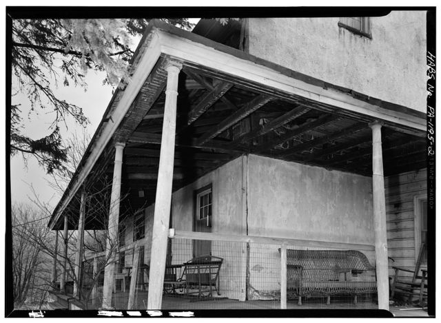 John Buckwalter House, State Route 401 (East Nantmeal Township), Ludwigs Corner, Chester County, PA
