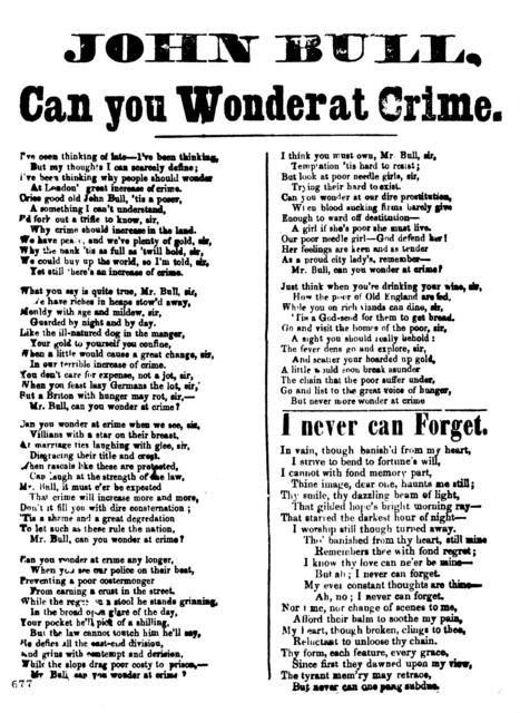 John Bull, can you wonder at crime