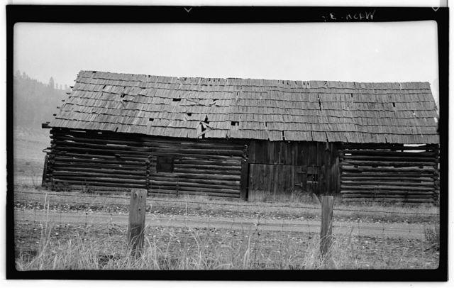 John Clugston Barn, Clugston Road, Colville, Stevens County, WA