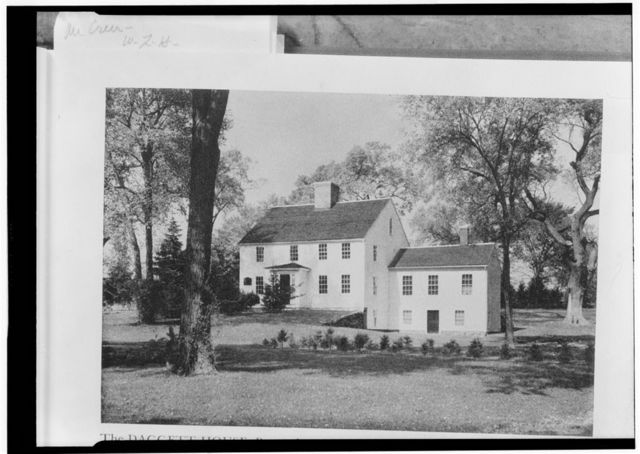 John Dagget House, Slater Park, Pawtucket, Providence County, RI