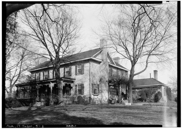 John Daniel Rather House, 209 South Cave Street, Tuscumbia, Colbert County, AL